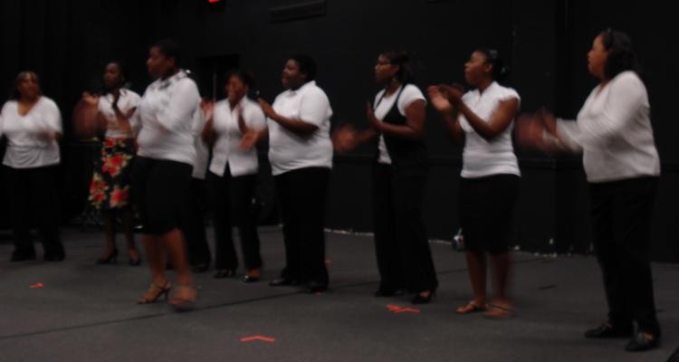 Voices of Grace perform